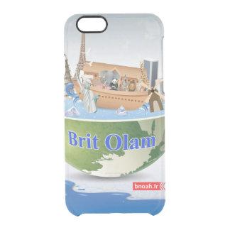 """El Etui """"británico Olam"""" vierte para el iPhone 6 Funda Clearly™ Deflector Para iPhone 6 De Uncommon"""