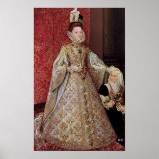 El Eugenia de Isabel Clara de la infanta con Póster