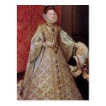 El Eugenia de Isabel Clara de la infanta con Tarjeta Postal