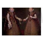 El Eugenia de Isabel Clara de las infantas Tarjeton
