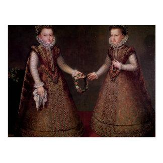 El Eugenia de Isabel Clara de las infantas Tarjetas Postales