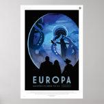 El Europa, descubre vida debajo del hielo Póster