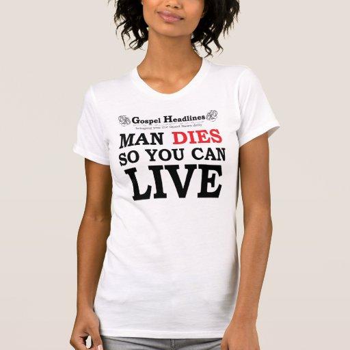 El evangelio pone título a la camiseta destruida d