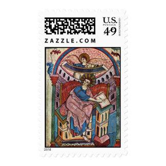 El evangelista Matthew, evangelios del Ada: Puerto Sello