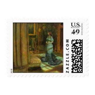 El Eve de la bella arte del St. Inés Timbres Postales