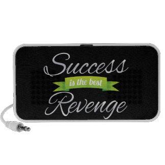 El éxito es el mejor verde de la venganza altavoz de viajar