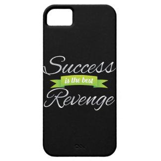 El éxito es el mejor verde de la venganza iPhone 5 funda