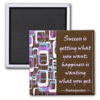 El éxito es… Imán