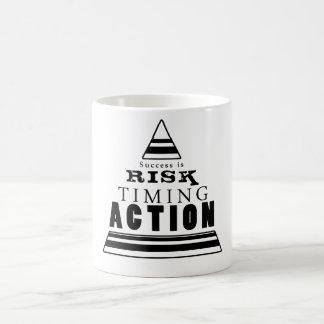 El éxito es… tazas de café