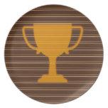 El éxito NVN278 del ganador de la taza del premio Plato De Comida