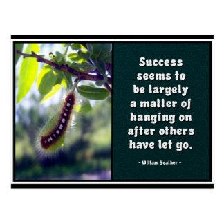El éxito parece ser… Postal