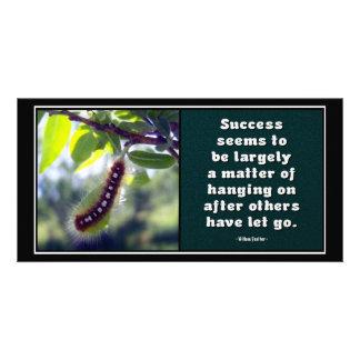 El éxito parece ser… Tarjeta de la foto Tarjeta Fotográfica