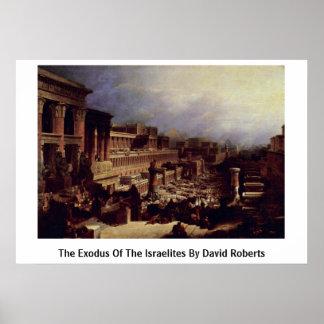 El éxodo de los Israelites de David Roberts Posters