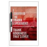El experimento de Obama Pizarras