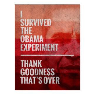El experimento de Obama Tarjetas Postales