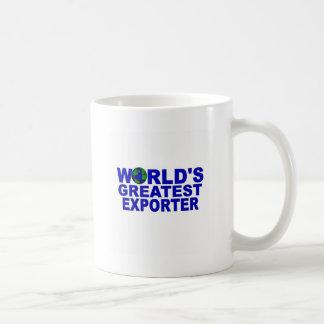 El exportador más grande del mundo taza de café