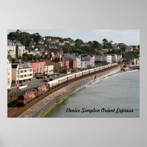 El expreso de Oriente, VOSE, en Dawlish, Devon Poster