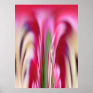 El éxtasis de Primavera Poster