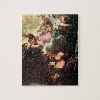 El éxtasis de San Pablo, c.1628-29 (aceite en lona Rompecabeza
