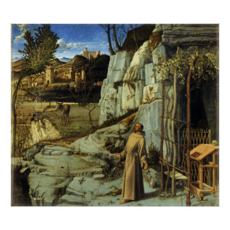 El éxtasis de St Francis de Juan Bellini Poster