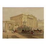El exterior de la casa de Apsley, 1853, por J. Postales
