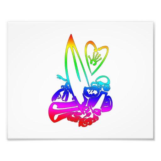 el exterme se divierte el arco iris gradient.png cojinete
