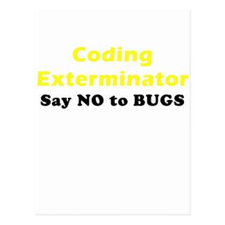El Exterminator de la codificación dice no a los Postal