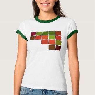 El extracto ajusta la camiseta playera