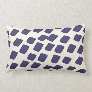El extracto azul púrpura moderno ajusta el animal  almohada