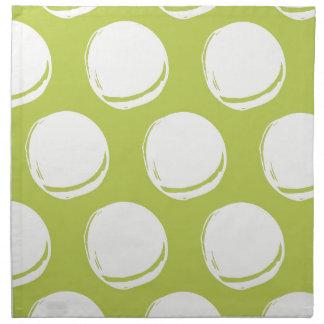 El extracto bonito de la verde lima circunda el mo servilleta de papel