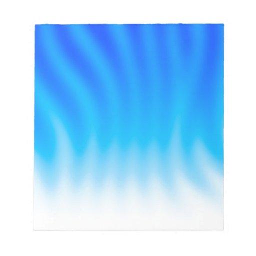 El extracto colorea calor azul bloc