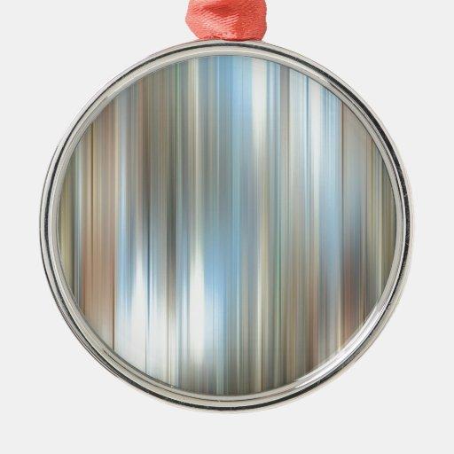 El extracto colorea el espejo ornamento de navidad