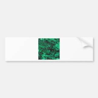 El extracto colorea el mármol verde etiqueta de parachoque