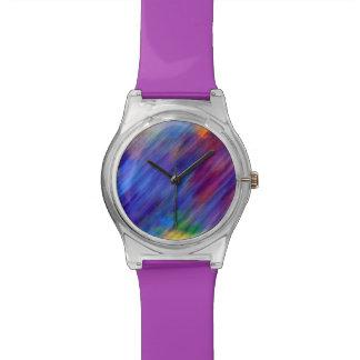 El extracto colorea el reloj