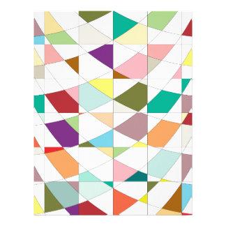 El extracto colorea la tapicería membrete a diseño