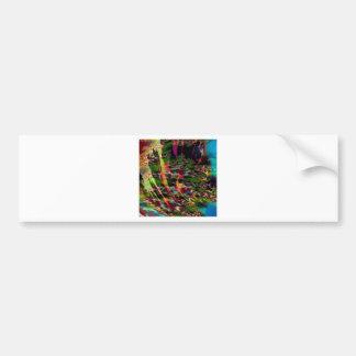 El extracto colorea las natillas oscuras etiqueta de parachoque
