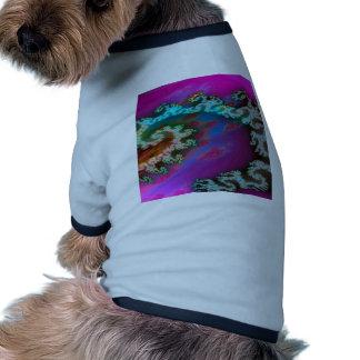 El extracto colorea los brazos galácticos ropa de mascota
