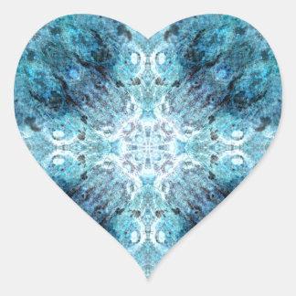 El extracto de la turquesa, con una cierta pegatina en forma de corazón