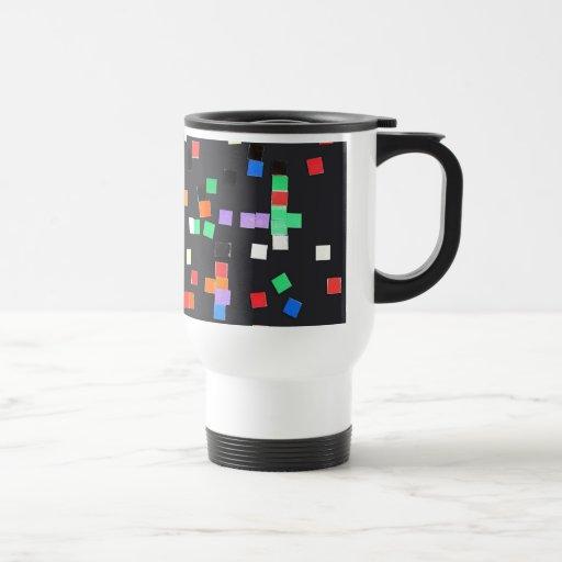 El extracto del niño tazas de café