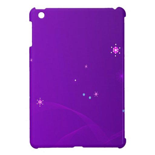 El extracto florece el cielo púrpura