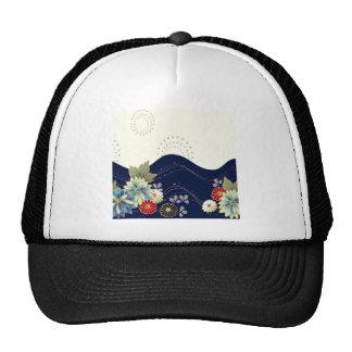 El extracto florece los fuegos artificiales azules gorras