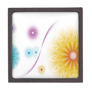 El extracto florece Soundwave blanco Caja De Regalo De Calidad