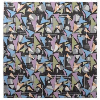 El extracto forma el collage servilletas imprimidas