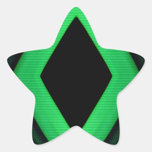 El extracto forma el fondo pegatina en forma de estrella
