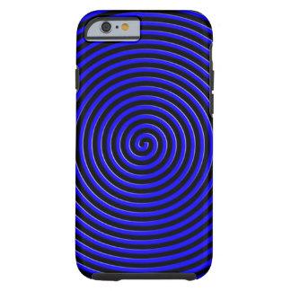 El extracto hipnotizó el azul funda para iPhone 6 tough