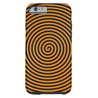 El extracto hipnotizó el naranja funda de iPhone 6 tough