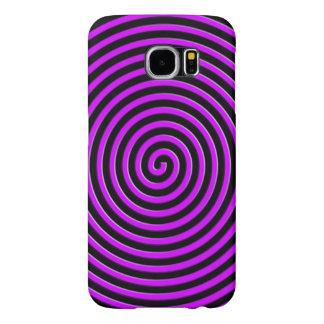 El extracto hipnotizó la violeta púrpura fundas samsung galaxy s6