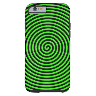 El extracto hipnotizó verde funda de iPhone 6 tough
