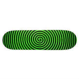 El extracto hipnotizó verde negro patines