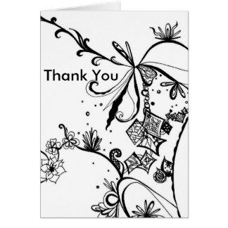 El extracto le agradece cardar tarjeta de felicitación